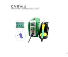 80w Industrial Grade Digital Lcd Display Temperature Adjustable Soldering Station
