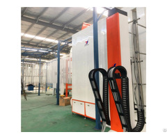 Quick Color Changing Spray Painting Booth For Radiator Powder Coating Equipment