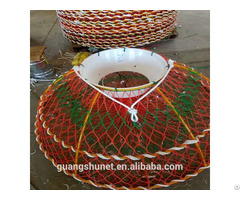 Green Foldable Crab Pot Trap Lobster Net