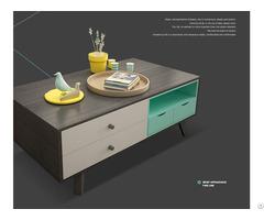 Modern Design Living Room Tea Coffee Wood Table