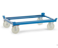 Steel Pallet Chassis Trolley