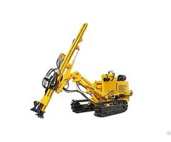 Jk590 Crawler Mounted Hydraulic Dth Drilling Rig