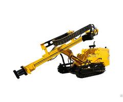 Jk520 Crawler Mounted Hydraulic Dth Drilling Rig