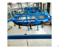 Professional Powder Coating Equipment With Overhead Conveyor Chain Systems