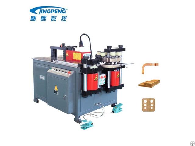 Motor Power Hydraulic Copper Aluminum Busbar Processing Machine