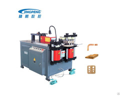 Motor Power Hydraulic Copper Aluminum Busbar Processing Machine