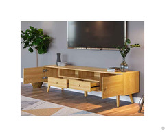 Hot Saling Cheap Wooden Tv Table Stand For Living Room