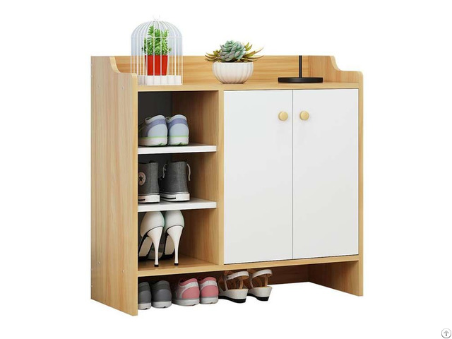 Hot Saling Wooden Cheap Small Shoe Cabinet For Living Room
