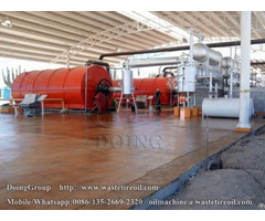 What Is Tyre Pyrolysis Oil Main Application