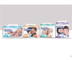 Various Sizes Fast Absorption Baby Diapers Cuddsies Series