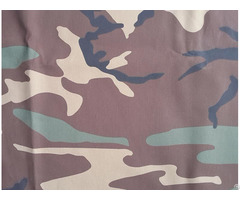 Durable Soldier Poly Cotton Digital Camouflage Uniform Fabric