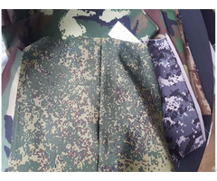 Polyester Rayon Blend Camouflage Acu Bdu Uniform Fabric