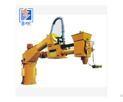 10kw Double Arm Continuous Resin Sand Mixing Machine
