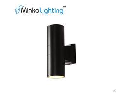 Waterproof Cri80 High Lumen 220v 230v Double Lamp Led Outdoor Wall Light