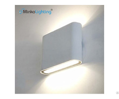 Modern Design Customization Fixtures 6w Ip65 Panel Outdoor Led Up Down Wall Light