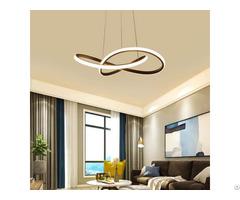 Irregular Cool White Lighting Led Ring Pendant Ceiling Fixture