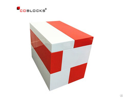 Artcraft Hollow Seat Made Of The Abs Giant Plastic Building Blocks Wholesale Bricks