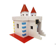 Event Kiosk Fence Festive Supplies Party Decorations Castle Plastic Molds Building Blocks