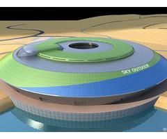 Korla Steel Space Frame System Theme Park
