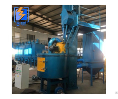 Q3512 Turn Table Type Shot Blasting Machine For Casting Parts