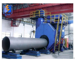 Steel Pipe Inner And Outer Wall Shot Blasting For Surface Cleaning