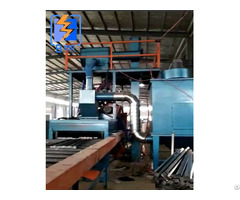 Foundry Industry Roller Conveyor Through Type Shot Blasting Machine