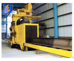 Qh69 H Beam Roller Conveyor Type Shot Blasting Machine