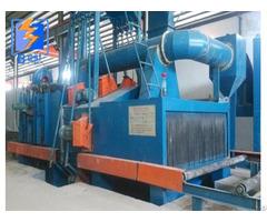 Qh 69 H Beam Steel Structure Type Abrasive Shot Blast Machine