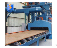 Roller Conveyor Type Paint Remover Machine For Steel H Beams