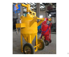 Metal Aluminum Alloy Surfacetreatment Dustless Water Sand Blasting Machine