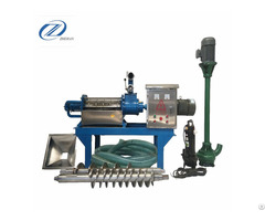Dairy Farm Machinery Equipment Poultry Dung Dewatering Machine For Pig Manure