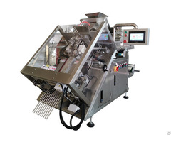 True Quad Seal Bag Declining Filling And Packaging Machine
