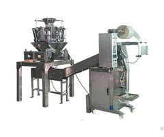 Vfm200gl With Multiheads Weigher Economic Granule Packaging Machine