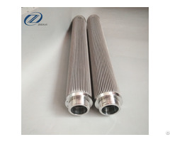 Stainless Steel Folding Filter Element Hydraulic Oil With Filtration Precision1 300um