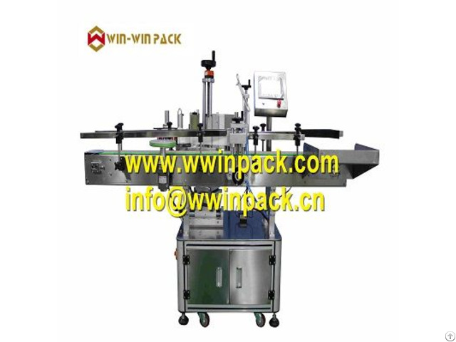 Automatic Round Bottle Positioning Label Machine Vertical Type Ql 822