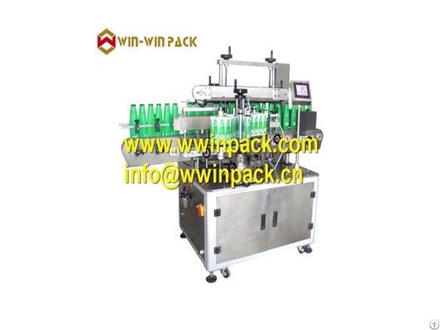 Automatic Flat Bottle Round Multi Function Label Machine Ql 843