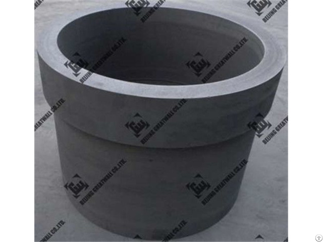 China High Quality Temperature Graphite Crucible For Vacuum Furnace