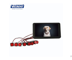 7inch 1080p One Key Digital Signage Player Advertising Display