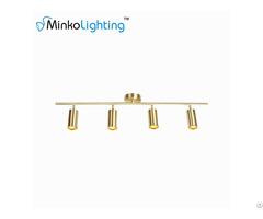 Gold Kitchen Track Lighting Fixtures