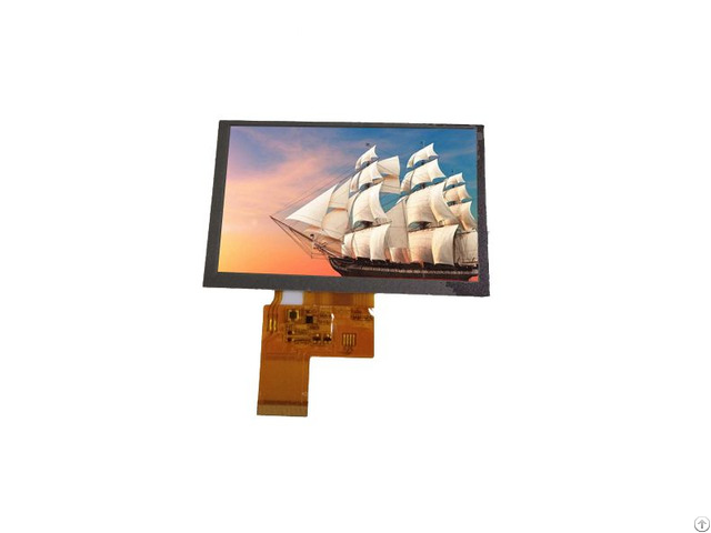 China 5 Inch Lcd Module With Rgb Interface 800 480 Square Tft Display