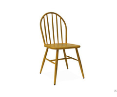 Hand Rush Vintage Restaurant Chair For Indoor And Outdoor Use