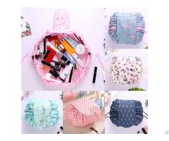 Wholesale Eco Friendly Nylon Portable Drawstring Cosmetic Bags