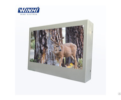 Waterproof Outdoor 10 1in Picture Frame Led Advertising Screen Display