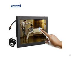Resistive Touchscreen 10 1in Metal Case Lcd With Hd Port Supermarket Monitor