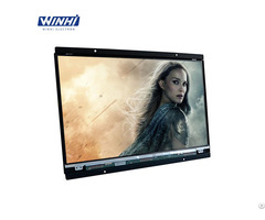 14inch Video Screen Cabinet Use Embedded Marketing Lcd Monitor Wall Mount