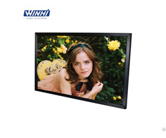 65inch Metal Case Floor Stand 4k Digital Signage Lcd Monitor