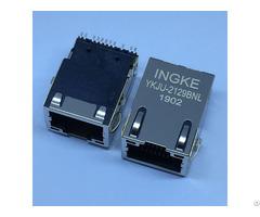 Ingke Ykju 2129bnl We 7498011122ar Smt 1 Port 100 Base T Tab Up Rj45 Lan With Transformer