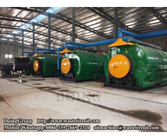 12t D Waste Plastic Pyrolysis Plant Successfully Running In India
