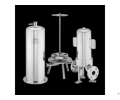 Stainless Steel Filter Housing For Sanitary Liquid Filtration