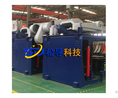 3t Steel Shell Hydraulic Melting Furnace